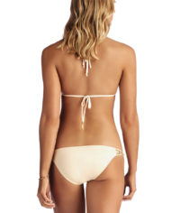 vit a amber beade strappy halter creme bacl