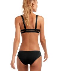 vitamin a emelia triple strap bottom black back