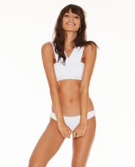 Lspace parker top white front