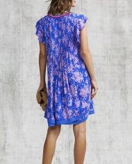 poupette sasha mini dress blue dream back