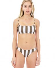 mikoh kumu top zuma bottom olive stripe