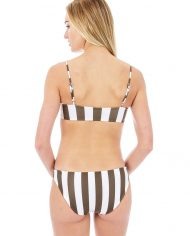 mikoh kumu top zuma bottom olive stripe back